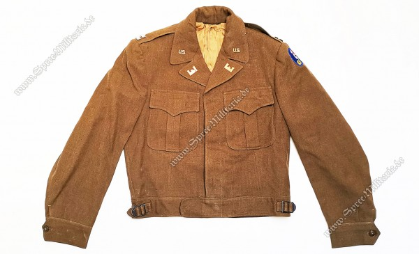 "U.S. WWII Uniformbluse ""USACE/Manhattan-Project"" Offizier"