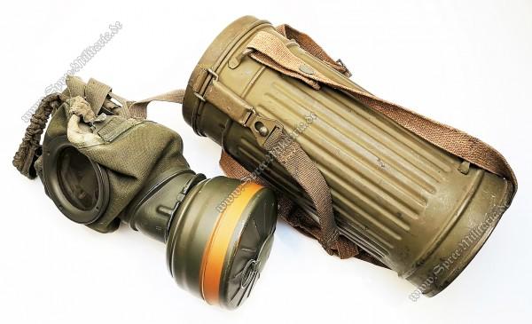 Wehrmacht/W-SS Tropen Gasmaske M38/Tornister