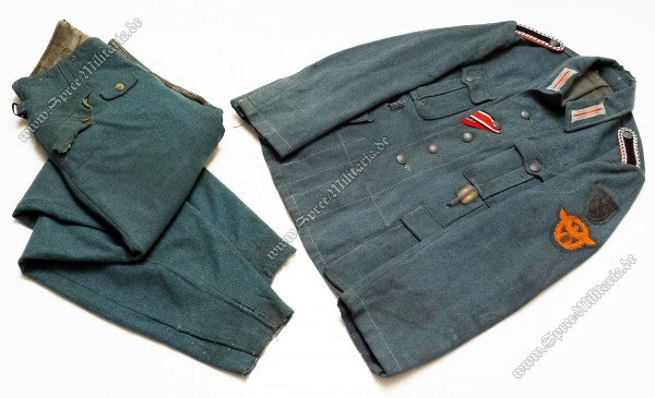XX-Polizei-Division/Feldgendarmerie Uniform für Mannschaften