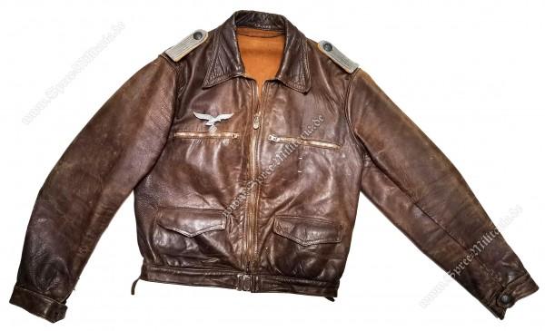 Luftwaffe/LW Fighter Pilot NCO Leather Flightjacket