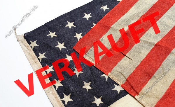 "WWII ""48 Star"" Amerikanische Landungsboot/Fahrzeugflagge"