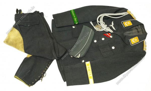 Luftwaffe Uniform Nachlass des FJ Hauptmann Martin Kühne