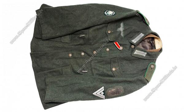 Wehrmacht Uniform/Feldbluse M42 Gebirgsjäger Stabsgefreiter