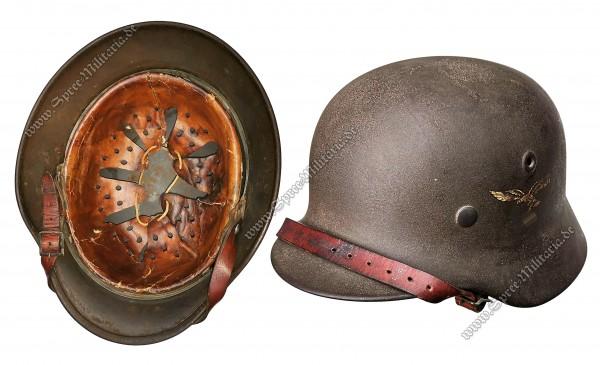 """Luftwaffe Stahlhelm M40 """"Q64"""""""