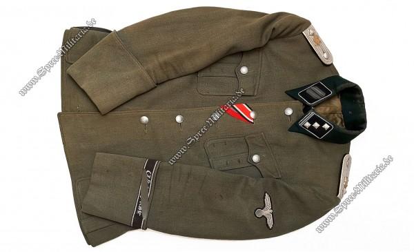 W-SS Offiziersfeldbluse M36 Leibstandarte[LSSAH] Obersturmführer