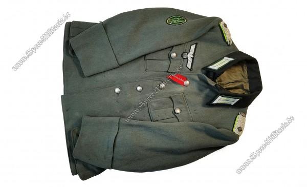 Wehrmacht Uniform/Feldbluse für Offiziere Skijäger Oberstleutnant