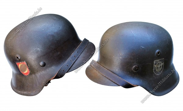 SS-Police Division Steel Helmet M42