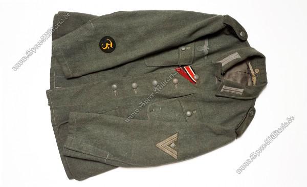 Wehrmacht Feldbluse M42 Pionier/Feuerwerker Stabsgefreiter