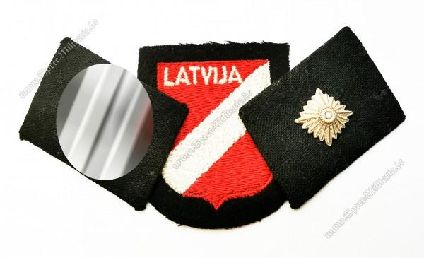 W-SS Insigniensatz Unterscharführer Latvian Legion