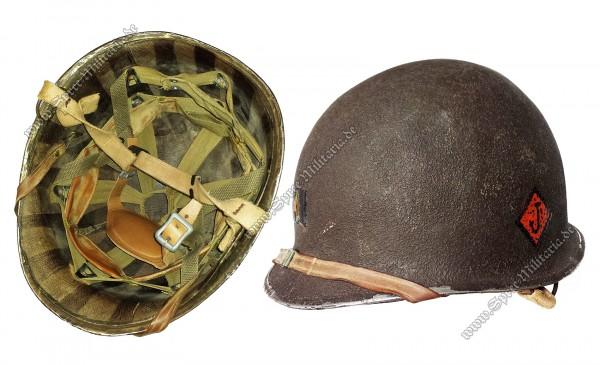 U.S. WWII Airborne Paratrooper Stahlhelm M1