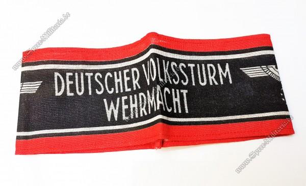 Wehrmacht Armbinde Deutscher Volkssturm
