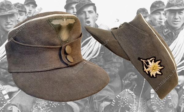 W-XX Feldmütze M43 für Gebirgsjäger Offiziere/Führer