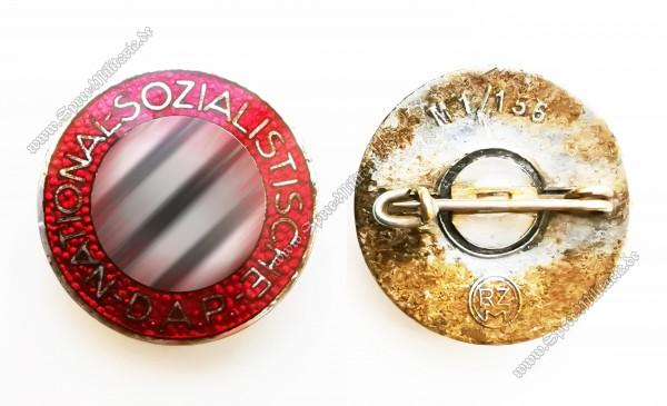 "NSDAP Membership Pin ""RZM M1/156"""