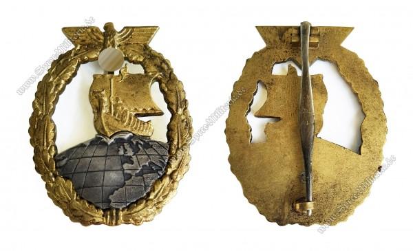 Kriegsmarine(KM) Hilfskreuzer-Kriegsabzeichen(Schwerin/Berlin)