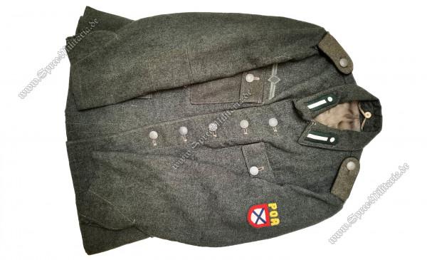 """Wehrmacht Uniform/Feldbluse M42 """"POA"""" Freiwillige/Mannschaften"""