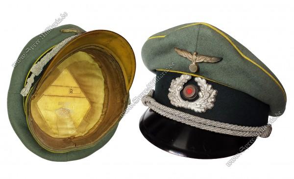 Wehrmacht Schirmmütze des Kavallerie-Schützen Erich Schroedter