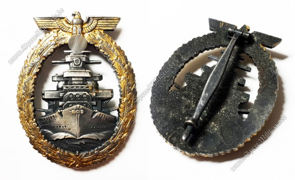 Kriegsmarine Fleet War Badge[R.S.&S.]
