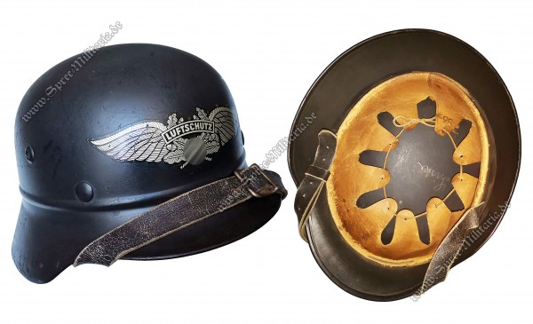 Air Raid Protection/Luftschutz(RLB) Steel Helmet M35