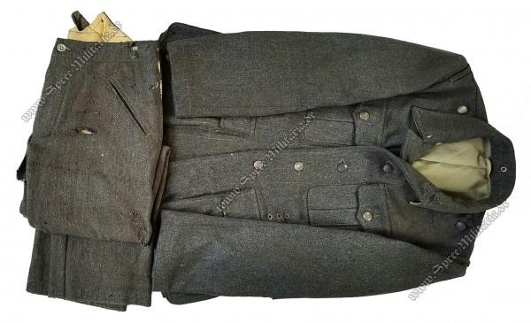 W-SS Uniform/Feldbluse M40 + Feldhose M40