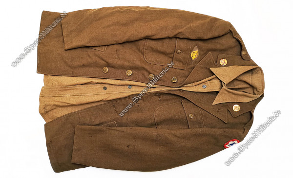 "U.S. WWII ""Ruptured Duck"" Uniformjacke/Hemd Mannschaften"
