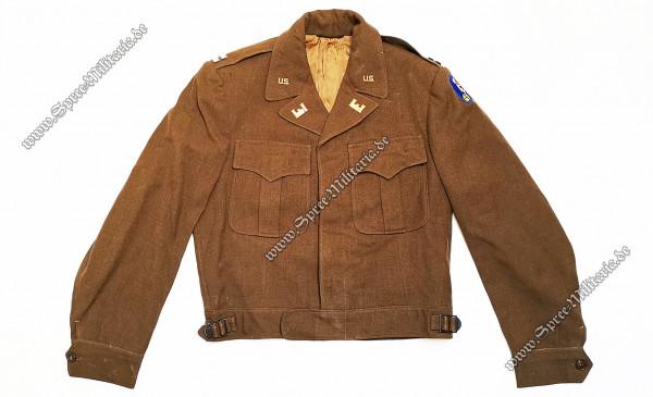 "U.S. WWII Uniformbluse M44 ""USACE""(Atombomben-Programm) Offizier"