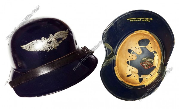 Air Raid Protection Luftschutz(RLB) Steel Helmet