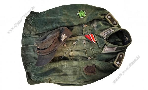 Wehrmacht Spätkrieg M43 Uniform Ensemble Jägertruppe Feldwebel