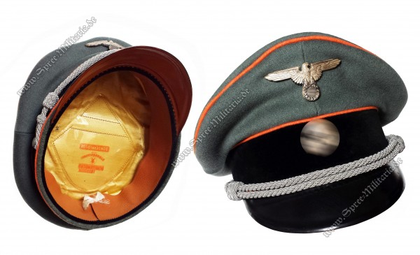 W-XX Schirmmütze für Feldgendarmerie Offiziere