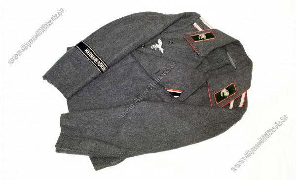 """Luftwaffe Sturmgeschützjacke Flak-Rgt.""""H.G."""" Uffz."""