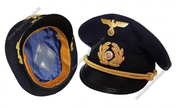 Kriegsmarine Schirmmütze für Marine-SA Offiziere