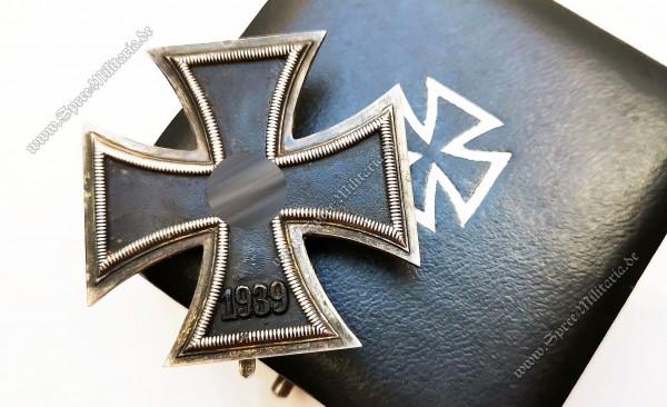 Eisernes Kreuz(1939) 1.Klasse im Etui[Variante mit runder 3]