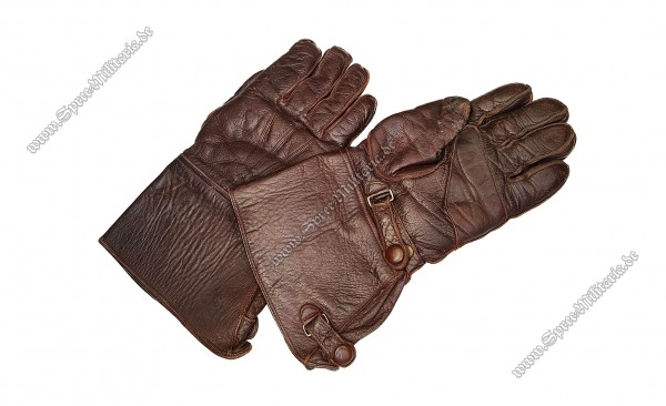 Luftwaffe Pair Leather Gloves for Flight Personal/Pilots
