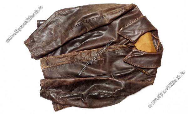 Luftwaffe Fighter Pilot Leather Flightjacket
