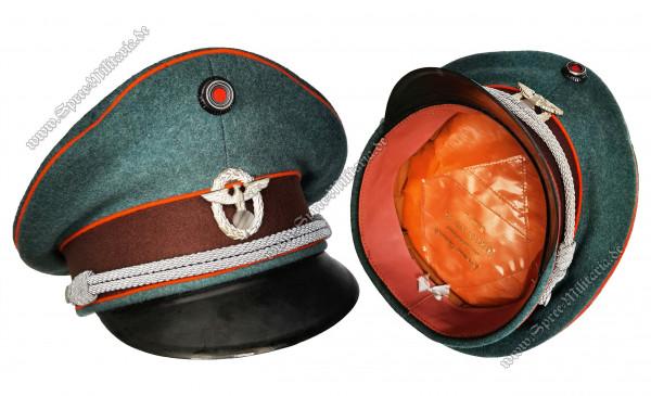 III.Reich Polizei Schirmmütze für Offiziere der Gendarmerie