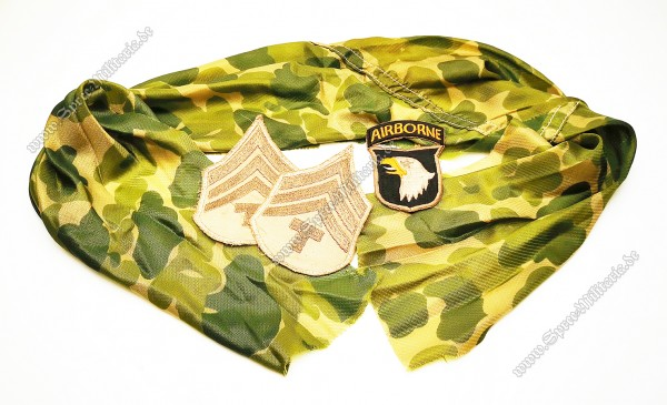 WKII US-Paratrooper Insignien Nachlass