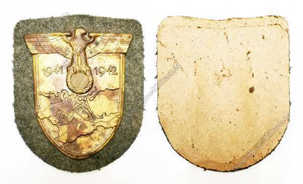 Krim Campaign Sleeve Shield 1941 - 42