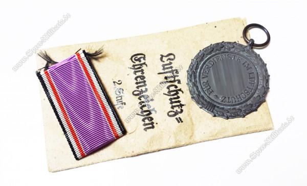 Luftschutz-Ehrenzeichen 2.Stufe +Tüte
