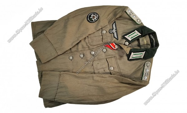 Wehrmacht Tropical Tunic/Field Blouse M41 Officer GJ.R.137