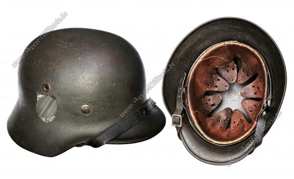 """W-SS Ardennen/Schiefertarn Stahlhelm M40 """"EF64"""""""