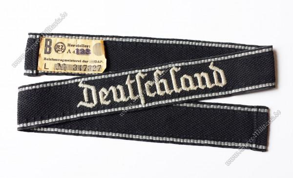 """XX/VT Ärmelband für Mannschaften XX-Regiment 1 """"Deutschland"""""""