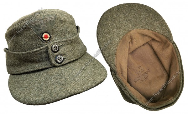 Wehrmacht Feldmütze M43 für Mannschaften