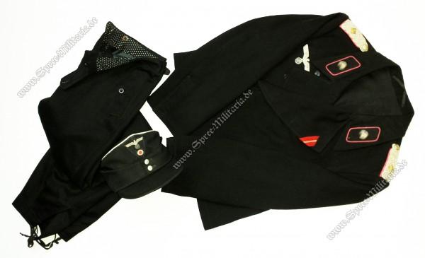Wehrmacht 3.Panzer-Regiment Uniform Nachlass Oberstleutnant F.Schneider-Kostalski
