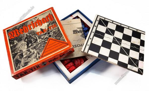 """III.Reich Wehrmacht Board Game """"Wehrschach Tak - Tik"""""""