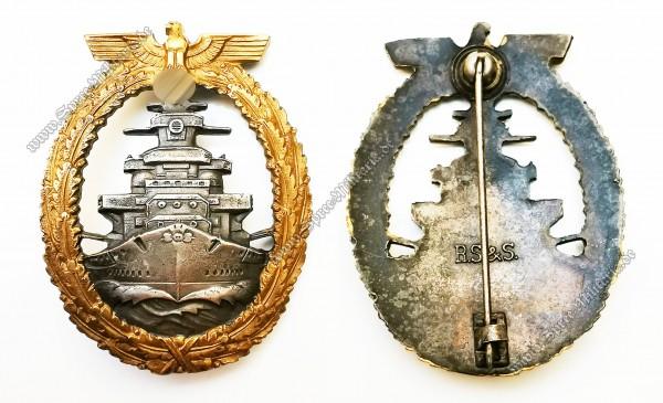 Kriegsmarine Flotten-Kriegsabzeichen[R.S.&S.]