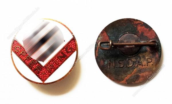 NSDAP Opfer-Ring Mitgliedsabzeichen