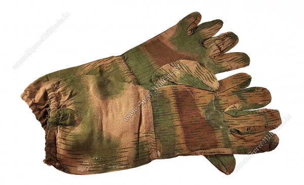 Wehrmacht/WH Swamp/Water Camouflage Gloves for Sharpshooter/Sniper