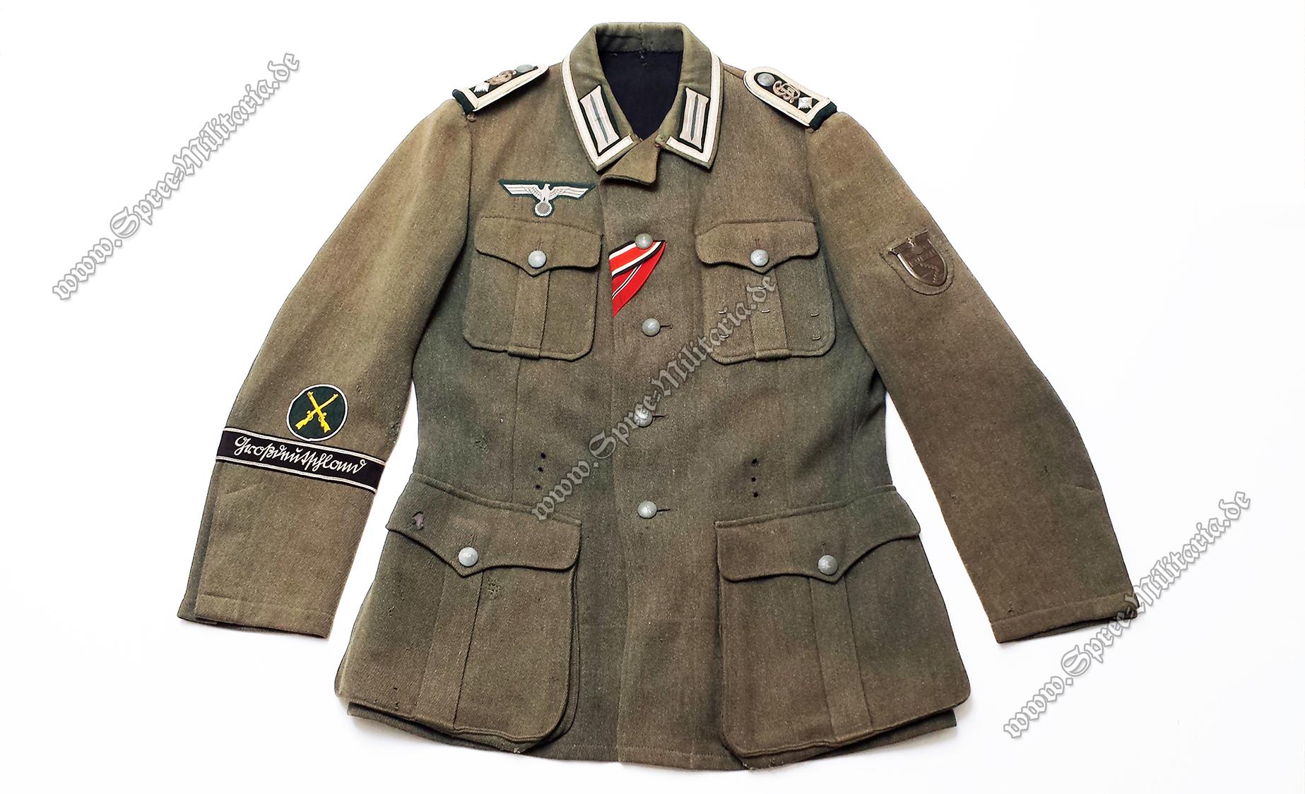 Wehrmacht Uniformjacke M40 Infanterie Feldwebel