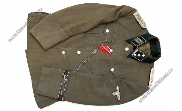 "W-SS Uniform/Feldbluse M36 Leibstandarte ""LSSAH"" Obersturmführer"