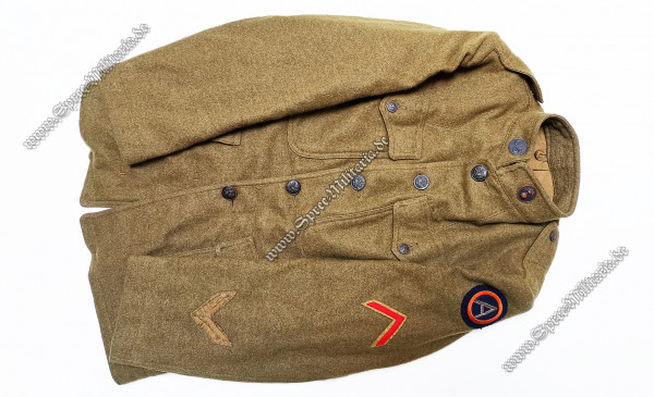 "U.S. WW1 ""Doughboy"" Uniformjacke Private First Class"