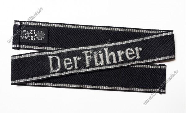 """XX(VT)/W-XX Ärmelband für Offiziere im Regiment """"Der Führer"""""""